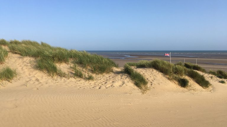 Camber Sands beach and dunes