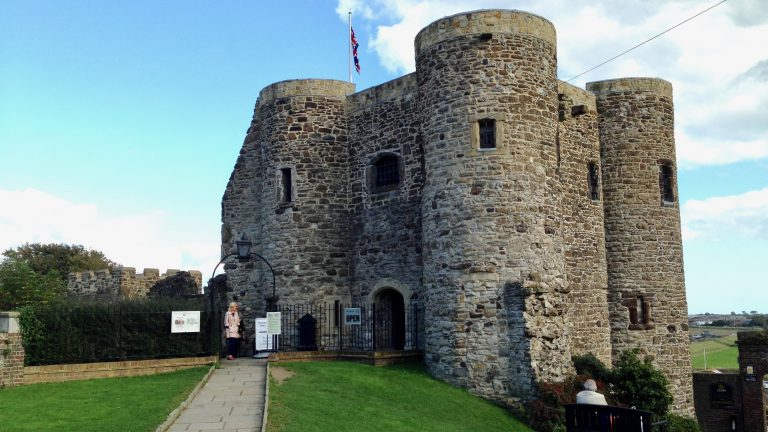 Ypres Tower sometimes known as Rye Castle in Rye