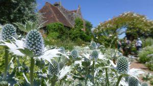 The White Garden at Sissinghurst Castle in Kent