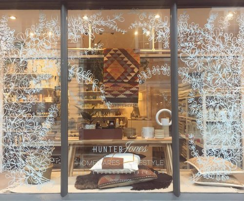 Hunter Jones Christmas window, Rye