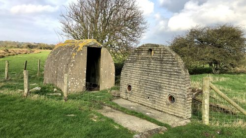 Standen Shelter near Camber Castle
